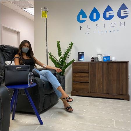 Life Fusion IV Therapy Doral Miami Vitamin IV drip Rehydrate