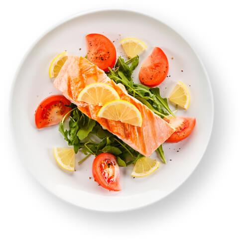 mejor que dieta keto ensalada salmon